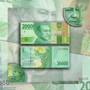 NumisDragon_Asia_Indonesia_20000_Rupiah_P158_UNC