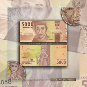NumisDragon_Asia_Indonesia_5000_Rupiah_P156_UNC