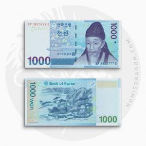 NumisDragon_Asia_South_Korea_1000_Won_P54_UNC