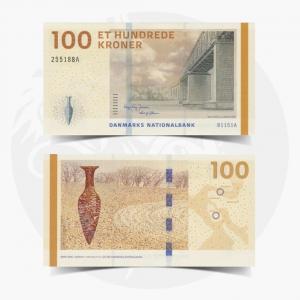 NumisDragon_Europe_Denmark_100_Kroner_P66_GEM_UNC