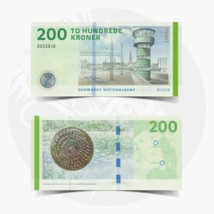 NumisDragon_Europe_Denmark_200_Kroner_P67_GEM_UNC