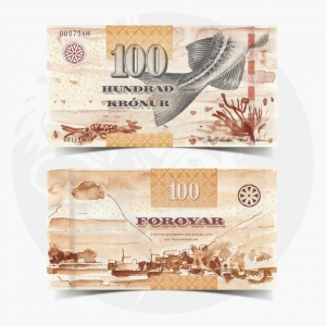 NumisDragon_Europe_Faeroe_Islands_100_Kronur_P30_GEM_UNC