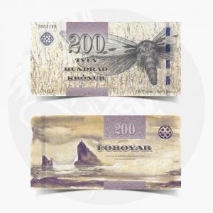 NumisDragon_Europe_Faeroe_Islands_200_Kronur_P31_GEM_UNC
