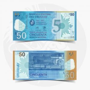 NumisDragon_America_Uruguay_50_Pesos_P100_GEM_UNC