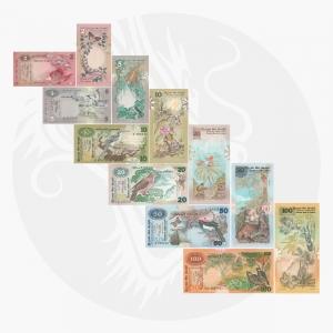 NumisDragon_Asia_Ceylon_2-5-10-20-50-100_Rupees_P83-P84-P85-P86-P87-P88_aUNC-UNC