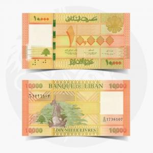 NumisDragon_Asia_Lebanon_10000_Livres_P92_UNC