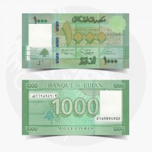 NumisDragon_Asia_Lebanon_1000_Livres_P90_UNC