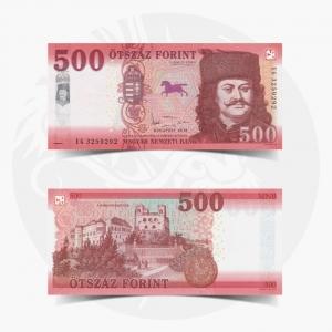 NumisDragon_Europe_Hungary_500_Forint_PNEW_UNC