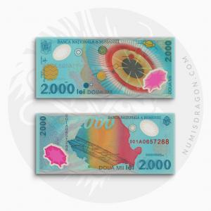 NumisDragon_Europe_Romania_2000_Lei_P111_UNC