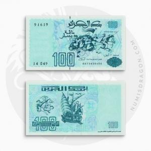 NumisDragon_Africa_Algeria_100_Dinars_P137_UNC