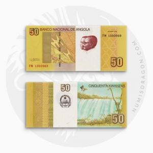 NumisDragon_Africa_Angola_50_Kwanzas_P152_UNC