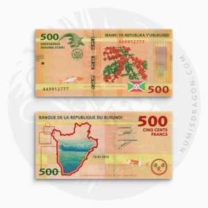 NumisDragon_Africa_Burundi_500_Francs_P50_UNC