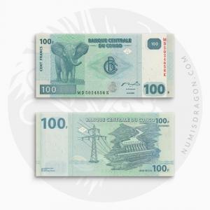 NumisDragon_Africa_Congo_100_Francs_P98_UNC