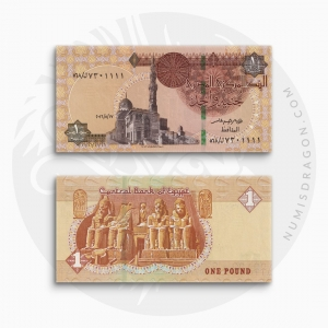 NumisDragon_Africa_Egypt_1_Pounds_P71_UNC
