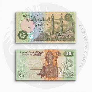 NumisDragon_Africa_Egypt_50_Piastres_P70_UNC