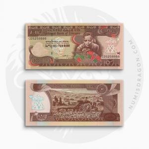 NumisDragon_Africa_Ethiopia_10_Birr_P48_UNC