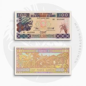 NumisDragon_Africa_Guinea_100_Francs_PA47_UNC