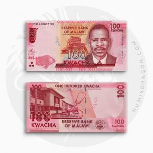 NumisDragon_Africa_Malawi_100_Kwacha_P65_UNC