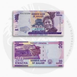 NumisDragon_Africa_Malawi_20_Kwacha_P63_UNC