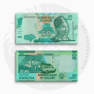 NumisDragon_Africa_Malawi_50_Kwacha_P64_UNC