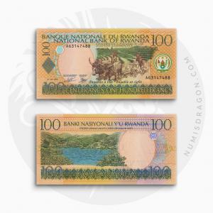NumisDragon_Africa_Rwanda_100_Francs_P29_UNC