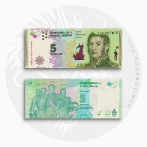 NumisDragon_America_Argentina_5_Pesos_P359_UNC