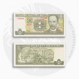 NumisDragon_America_Cuba_1_Peso_P128_UNC
