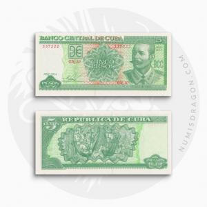 NumisDragon_America_Cuba_5_Pesos_P116_UNC