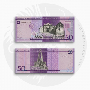 NumisDragon_America_Domican_Republic_50_Pesos_P189_UNC
