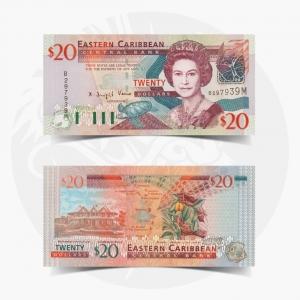 NumisDragon_America_East_Caribbean_Montserrat_20_Dollars_P44m_UNC