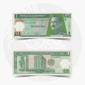 NumisDragon_America_Guatemala_1_Quetzal_P109_UNC