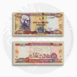 NumisDragon_America_Jamaica_500_Dollars_P85_UNC