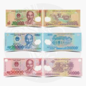 NumisDragon_Asia_Vietnam_10000-20000-50000_Dong_P119-P120-P121_UNC