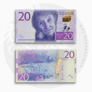NumisDragon_Europe_Sweden_20_Kronor_P69_UNC