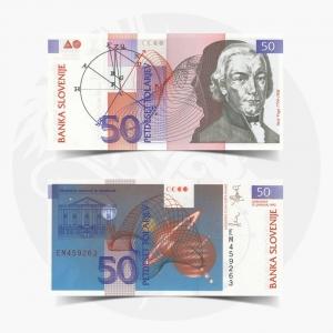 NumisDragon_Europe_Slovenia_50_Tolarjev_P13_UNC