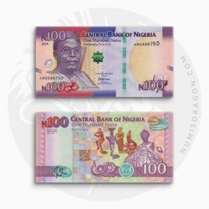 NumisDragon_Africa_Nigeria_100_Naira_P41_UNC
