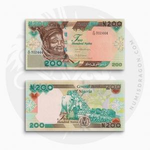 NumisDragon_Africa_Nigeria_200_Naira_P29_UNC