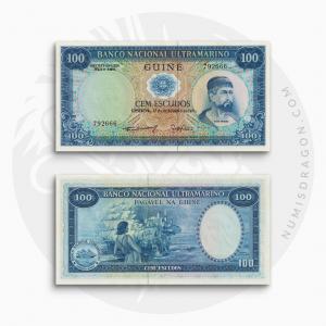 NumisDragon_Africa_Portuguese_Guinea_100_Escudos_P45_UNC