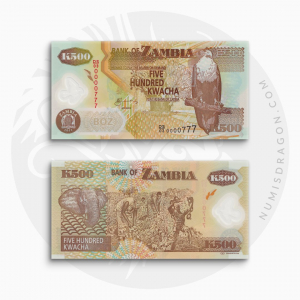 NumisDragon_Africa_Zambia_500_Kwacha_P43_UNC