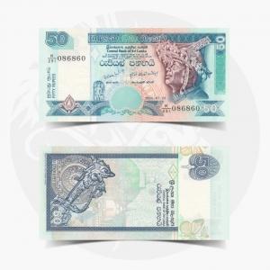 NumisDragon_Asia_Sri_Lanka_50_Rupees_P110_UNC