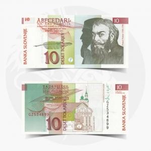 NumisDragon_Europe_Slovenia_10_Tolarjev_P11_UNC