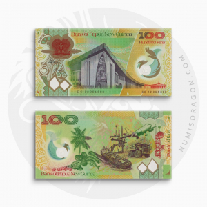 NumisDragon_Oceania_Papua_New_Guinea_100_Kina_P44_UNC
