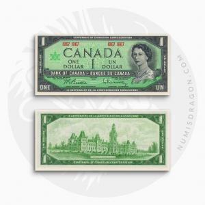 NumisDragon_America_Canada_1_Dollar_P84_UNC